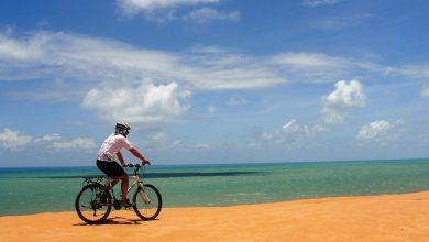 """Photo of """"A bike proporciona uma faxina mental, o vento no rosto e o prazer da endorfina descarregada nas veias."""""""