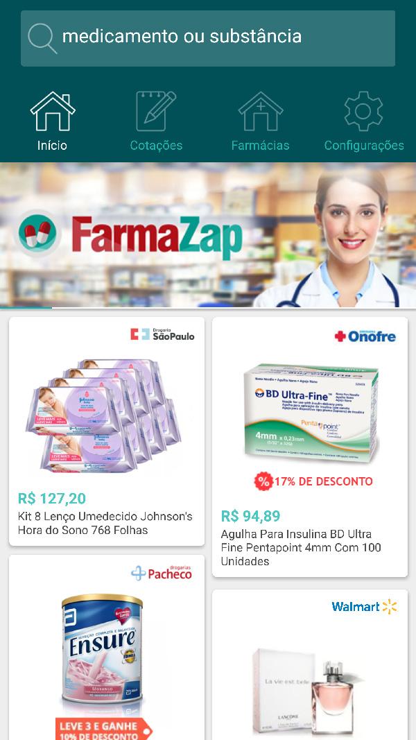 Aplicativo é solução para economizar na compra de medicamentos